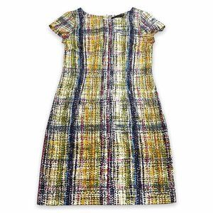 The Limited Sheath Dress Colorful Size 2 Striped